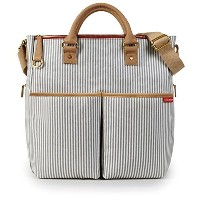 Skip Hop Duo Deluxe French Stripe Changing Bag