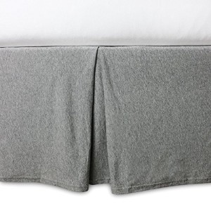 Burt's Bees Baby Organic Crib Skirt, Heather Grey [並行輸入品]