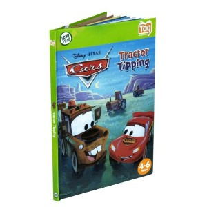 LeapFrog Tag Activity Storybook Cars Tractor Tipping リープフロッグ アクティビティブック カーズ トラクター ティッピング