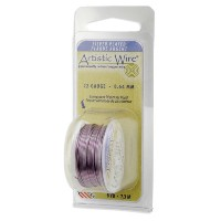 Artistic Wire 20-Gauge Silver Plated Amethyst Wire, 6-Yards by Artistic Wire