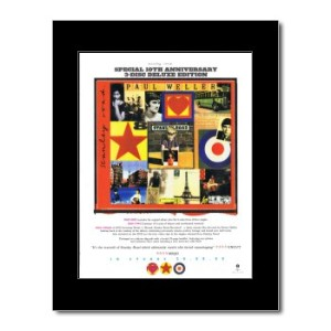 PAUL WELLER - Stanley Park - 10th Anniversary Mini Poster - 28.5x21cm