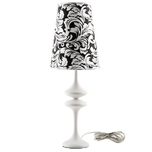 LexMod Illusion Modern Table Lamp, White by LexMod