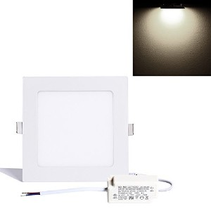 S&G 3th Generation LED Panels Lamp, Ultrathin Square Bathroom Lighting Fixtures, 12w 4000k(natural...
