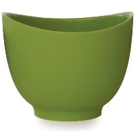 iSi Basics Flexible Silicone Mixing Bowl, 1.5 Quart, Wasabi [並行輸入品]