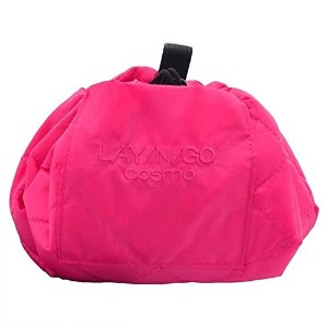 "lay-n-go Cosmo Cosmetic Bag Travel Organizer /オーガナイザーEveryday 20"" ピンク B01E4CR5RK"