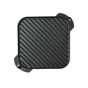 "LODGE 10.5"" CAST IRON REVERSIBLE GRILL/GRIDDLE【LSRG3-F】"