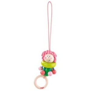 Haba Flower Fairy Dangling Figure Rattle by Haba