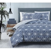 Avondale Manor 8Piece Emery Bed in aバッグセット クイーン グレー EMY-8CS-QUEN-GH-GY