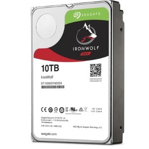 Seagate ST6000VN0041 Ironwolf シリーズ 3.5inch SATA 6Gb/s 6TB 7200rpm 128MB