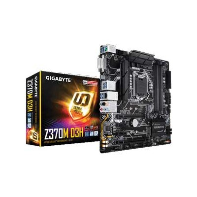 Z370M-D3H GIGABYTE micro-ATX対応マザーボード Z370M D3H [Z370MD3H]【返品種別B】