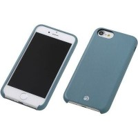 Deff RONDA Soft Leather Case for iPhone 7 Graysh Green ジャケット DCS-IP7RABPLGG