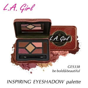 エルエーガール アイシャドーパレット GES338 be bold&beautiful L.A.girl INSPIRING EYESHADOW palette