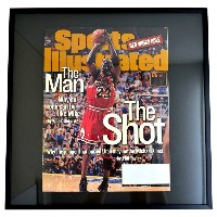NBA ブルズ マイケル・ジョーダン フォトフレーム Photo Frame in Sports Illustrated 1998/6/22
