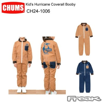 CHUMS チャムス CH24-1006 Kid's Hurricane Coverall Booby キッズハリケーンカバーオールブービー  ※取り寄せ品
