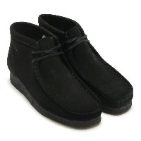 Clarks WALLABEE BOOT(クラースク ワラビー ブーツ)(BLACK SUEDE)16AW-I