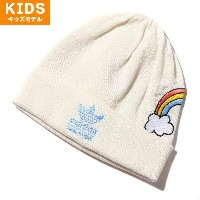adidas Originals MINI RODINI BEANIE (アディダス オリジナルス ミニ ロディーニ ビーニー)Off White/Bahia Light BlueOff White...