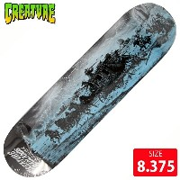 CREATURE クリエーチャー デッキ BACK TO THE BADLANDS BINGAMAN DECK 8.375 CAD-171 スケートボード スケボー skateboard