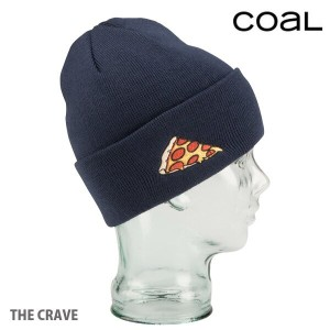 COAL コール キャップ・ハット THE CRAVE PIZZA NAVY ビーニー