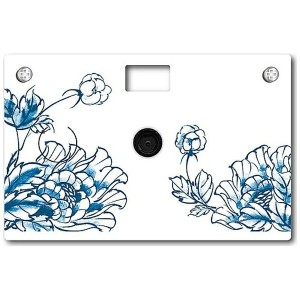 【送料無料】 PAPERSHOOT ペーパーカメラ Paper Camera(B&M Porcelian Flower) 02.07.0001