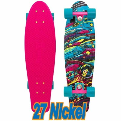 PENNY SKATEBOARDS/ペニースケートボード SEA SPACE WEIRD REALITY COLLECTION NICKEL/ニッケル 27 ミニクルーザースケボー 送料無料 ミニ...