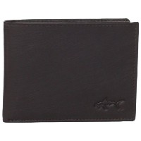 Greg Norman グレッグ・ノーマン メンズ カードケース ブラウン Men's Kidskin Passcase, Brown, One Size
