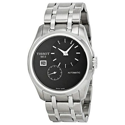 ティソ Tissot 腕時計 メンズ 時計 Tissot Men's T0354281105100 Couturier Analog Display Swiss Automatic Silver...