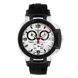 ティソ Tissot 腕時計 メンズ 時計 Tissot Men's T-Race Watch - Black