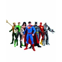 DCコレクティブ ジャスティス・リーグセット フィギュア(DC Collectibles We Can Be Heroes: Justice League 7-Pack Box Set)