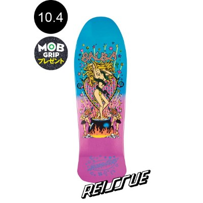 【SANTA CRUZ サンタクルーズ】10.4in x 32 in SALBA WITCH DOCTOR METALLIC FADE REISSUE DECKデッキ スティーブ・アルバ...