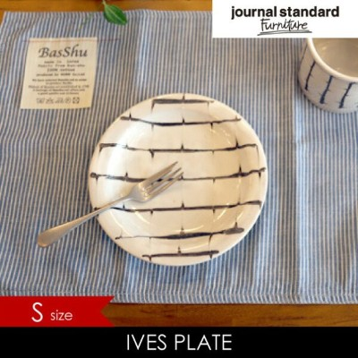 JOURNAL STANDARD FURNITURE ジャーナルスタンダードファニチャー IVES PLATE(S) プレート 皿 食器 小皿 取り皿 ホワイト アイボリー 白 モノトーン モノクロ