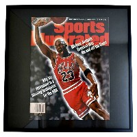 NBA ブルズ マイケル・ジョーダン フォトフレーム Photo Frame in Sports Illustrated 1999/1/25