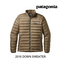 2016 PATAGONIA パタゴニア ダウンセーター DOWN SWEATER ASHT ASH TAN