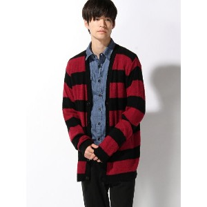 【SALE/20%OFF】NUMBER (N)INE BORDER CARDIGAN ナンバーナイン ニット【RBA_S】【RBA_E】【送料無料】