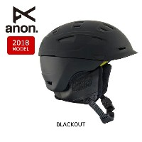 2018 anon アノン ヘルメット PRIME MIPS BLACKOUT 【スノー雑貨】日本正規品