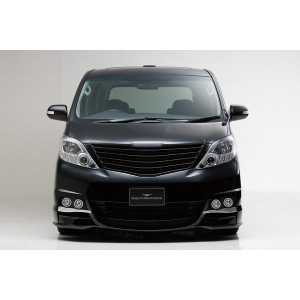 ALPHARD(GGH・ANH・20/25W) (H20.5~H23.11)SPORTS LINE BLACK BISON EDITION FRONT GRILL(素地)