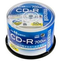 日立マクセル(HITACHI) CD-R  700MB  CDR700S.WP.50SP 50枚