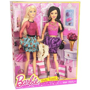 Barbie バービー Life in the Dreamhouse Barbie バービー and Raquelle Doll ドール 2-Pack