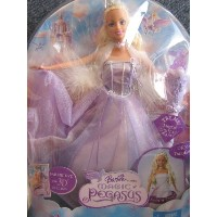 バービー The MAGIC of PEGASUS BARBIE as Princess ANNIKA Doll w LIGHT UP Wand (2005) ドール 人形 フ