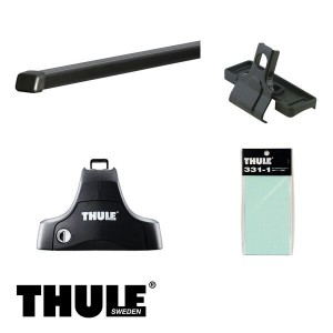 THULE/スーリー ミラージュ H24/8~ A05A キャリア 車種別セット/754+769+1696