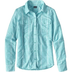 パタゴニア レディース シャツ トップス Patagonia Overcast Shirt - Women's Headwaters/Cuban Blue