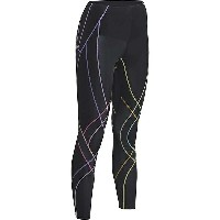 CW-X レディース レギンス ボトムス CW-X Women's Endurance Generator Tight Black / Pastel Rainbow