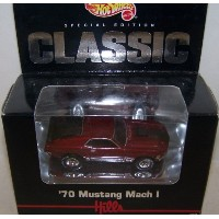 【送料無料】【Mattel Hot Wheels 1/64 Scale Diecast Hills Special Edition Classic 1970 Mustang Mach I in...