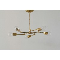 ACME FURNITURE アクメファニチャー SOLID BRASS LAMP 5ARM ソリッドブラスランプ5アーム ペンダントライト