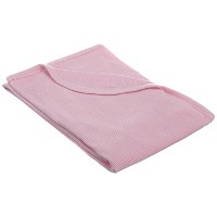 TL Care 100% Cotton Swaddle/Thermal Blanket, Pink by TL Care