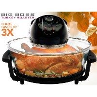 Big Boss Oval Rapid Wave 17.5-Quart 1300 Watt Hi-Speed-Low Energy infrared convection Oven, and...
