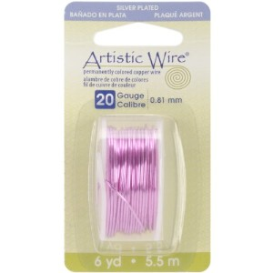Artistic Wire 20-Gauge Silver Plated Rose Wire, 6-Yards by Artistic Wire