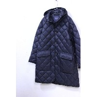【WINTER PRE SALE】GYMPHLEX(ジムフレックス)HAND QUILT DOWN フーデッドロングコート #J-1264 3color 2017'A/W【Lady's】