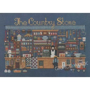 Told in a Garden クロスステッチ 刺繍図案 The Country Store
