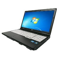 中古パソコン【Windows7】[F123A] 富士通 LIFEBOOK A572/E (Core i3 2370M 2.4GHz 4GB 250GB DVD-ROM Windows7 Pro)...