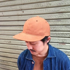 "OUT OF FOCUS × SUBLiME Synthetic Leather Cap ""Solid""フェイクスエード キャップ"